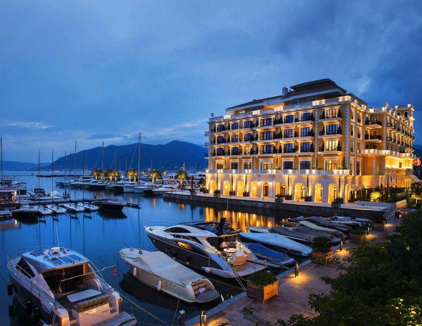 Pogled na Porto Montenegro