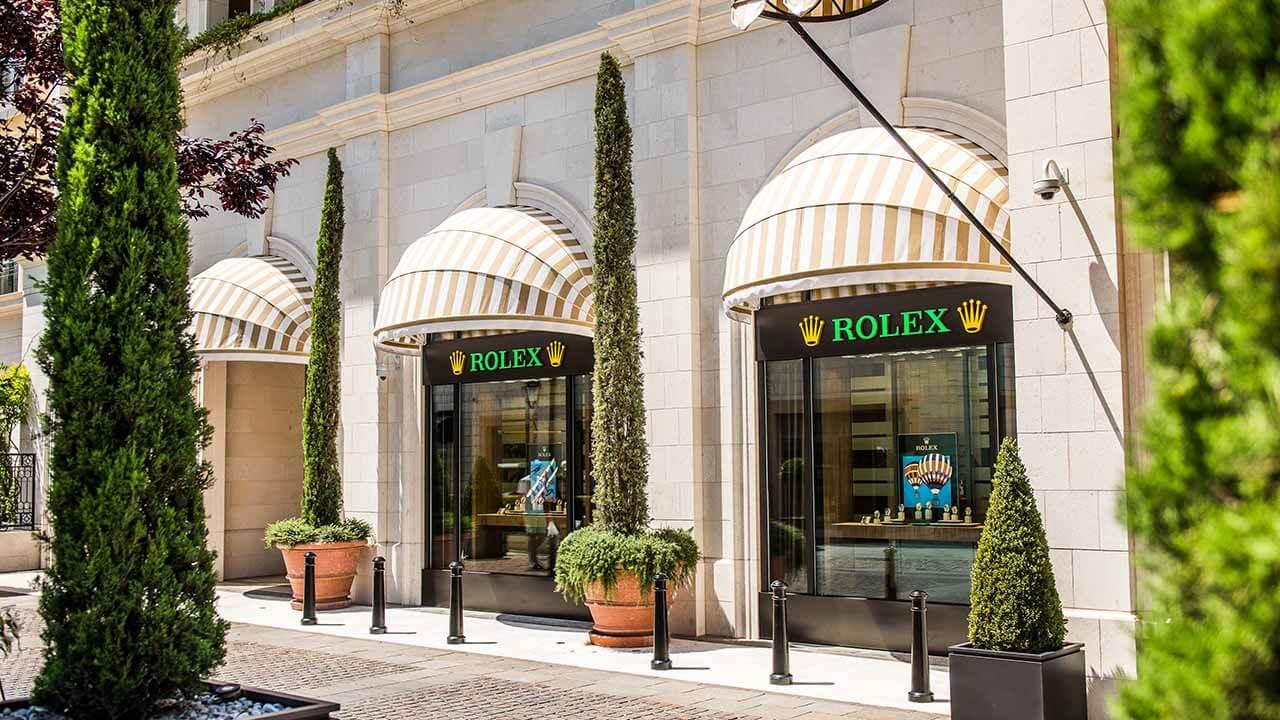 Rolex store in Porto Montenegro