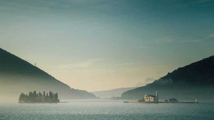 Pogled na zaliv Boka Kotorske.