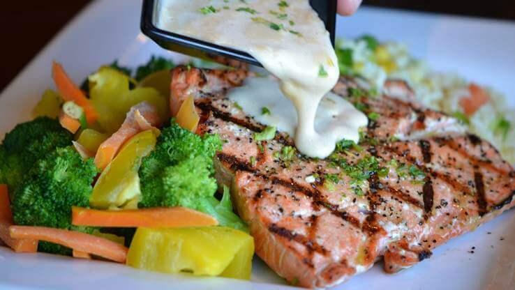 Grilled fish Montenegro cuisine