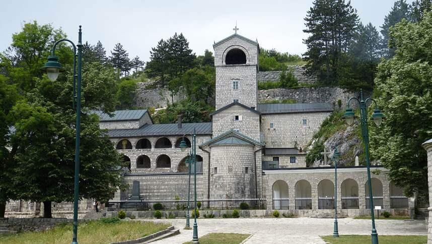 Monastery in Cetinje town