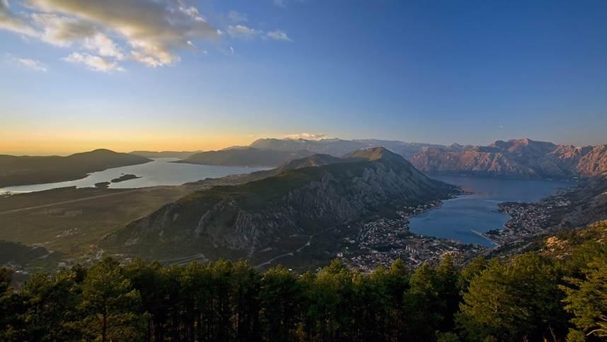 Natural landscape in Montenegro