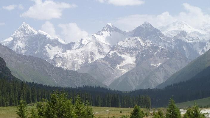 Prokletije mountain in Montenegro