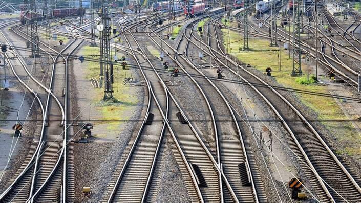 Railway in Montenegro