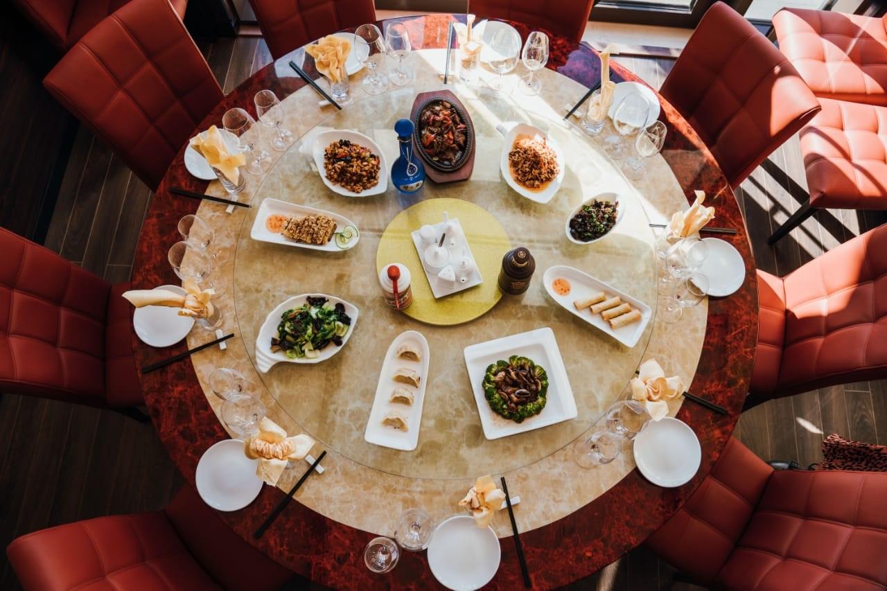 China Ruijin Restaurant spread