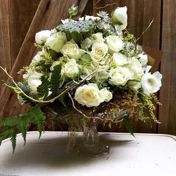 Flower bouquet in Gardenija