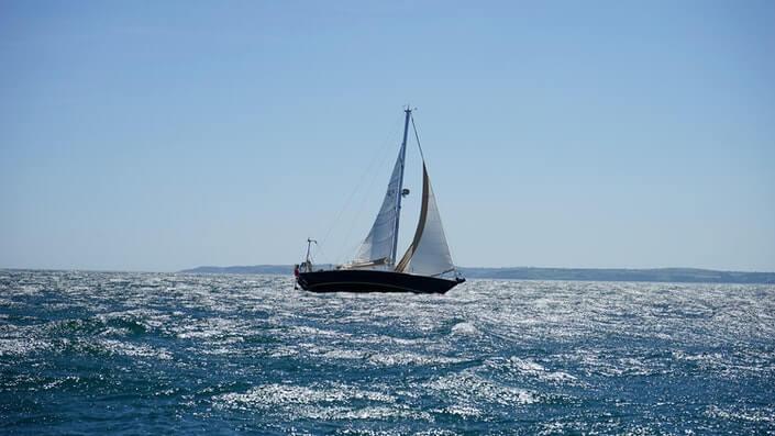 jedrilina na Jadranskom moru