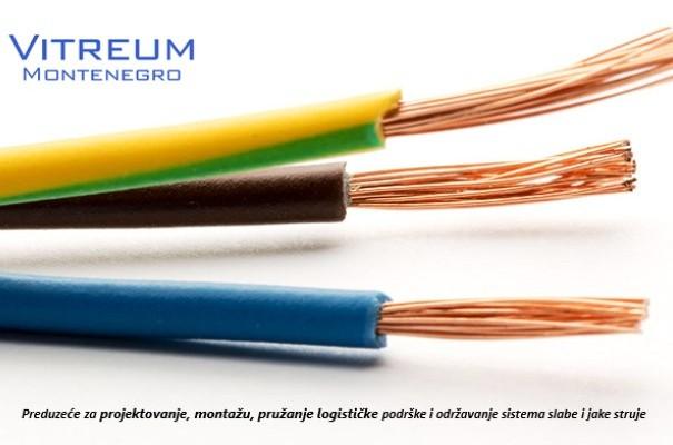 Multicoloured cables